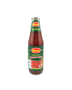 KING Tomato Ketchup - Glass Bottle (320g x 24 bottles)